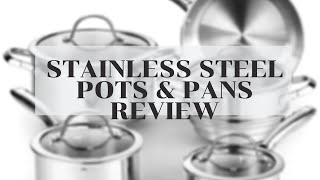 Cooks Standard Classic Stainless Steel Cookware Set Un-Boxing REVIEW