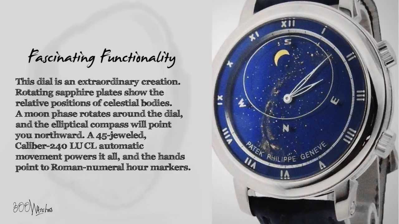 304f5114cef See this pre owned Patek Philippe 5102G Celestial Grand Complication 18k  White Gold Watch - YouTube
