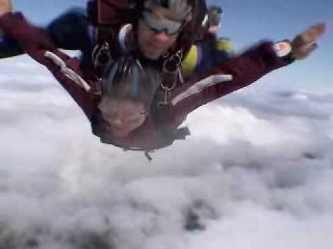 Gail Lundstrom's Tandem Skydive!