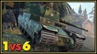 Type 5 Heavy - 1 vs 6 - World of Tanks Gameplay