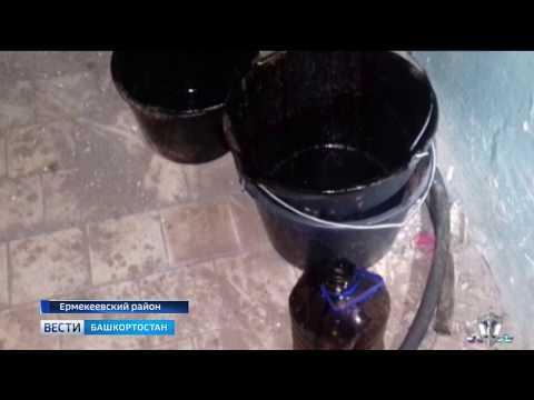 В Башкирии с поличным задержали подозреваемых в краже нефти на сумму свыше 700 тысяч рублей