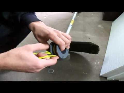 инструкция по намотке лески для мотокосы - фото 4