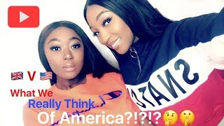 GETTING PULLED OVER BY AMERICAN POLICE  - What we really think of America!!