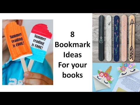 8 Awesome and unique bookmark ideas for your books | Learning Process