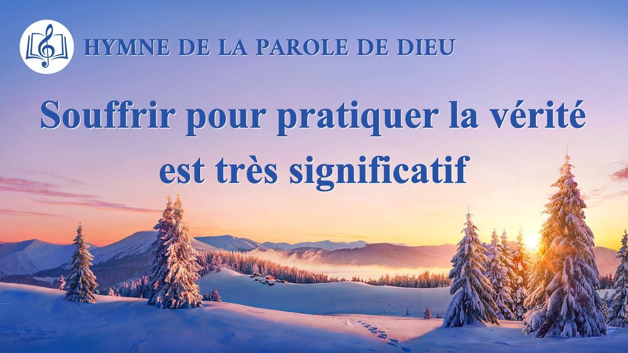Musique chrétienne en français « Souffrir pour pratiquer la vérité est très significatif »