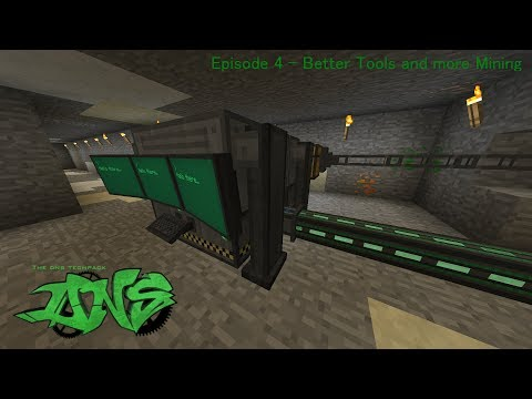 Minecraft Java Edition - DNS Techpack 12.0.0.1 - Better Tools and more mining - Episode 4