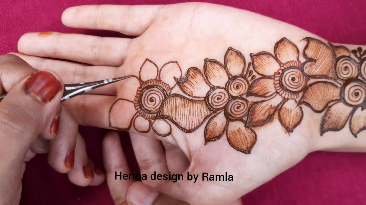 mehndi designs easy || latest mehndi design || new mehndi design || mehndi designs for hands| mehndi