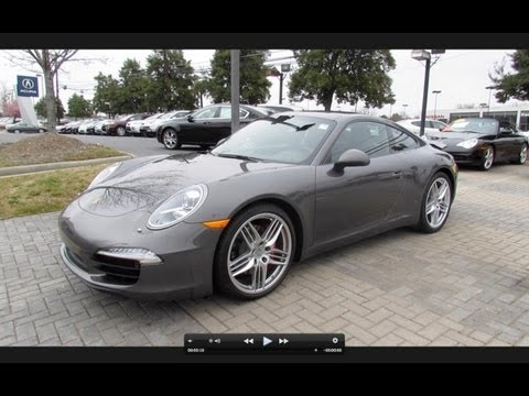 2012 Porsche 911 (991) Carrera S Start Up, Exhaust, and In Depth Review