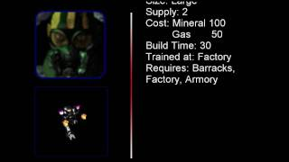 StarCraft Goliath German Quotes