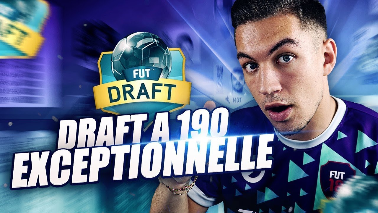 DRAFT A 190 EXCEPTIONNELLE !!