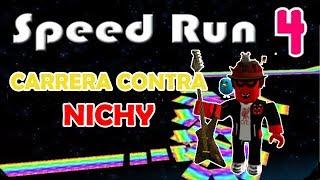 ROBLOX SPEED RUN CARRERA CONTRA DANNY
