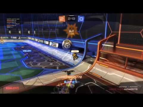 rocket league : OMG mon tir