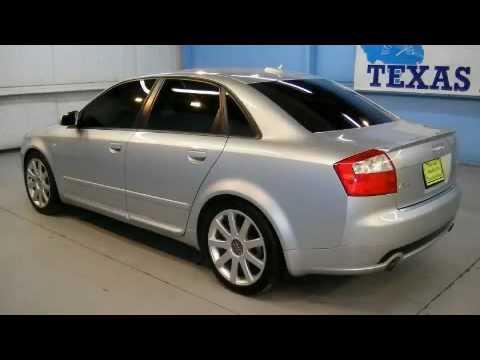 Used Audi A4 1 8t Dallas Tx