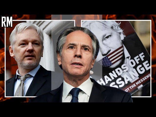 US Secretary of State Antony Blinken Gives Incoherent Response on Assange