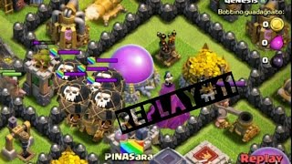 Clash of Clans replay#11 Muni lvl 8 in lega campioni - Soft Focus