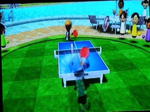Wii Sports Resort Beat Ping Pong Superstar Stephanie
