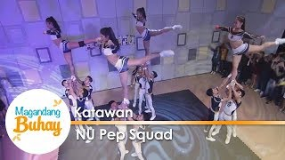 Magandang Buhay: UAAP Cheerdance Champion NU Pep Squad welcomes Richard Gomez