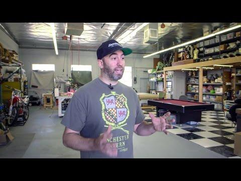 Maker Spaces: Inside Frank Ippolito's New Workshop!