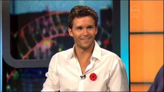 Ryan Kwanten interview on The 7pm Project (Australia) - Red Hill movie