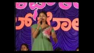 Vasuki from Sulugodu in Voice of Thirthahalli singing contest 2011-12 Grand Finale
