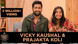 &#39Social Media Star with Janice&#39 E01 Vicky Kaushal and Prajakta Koli