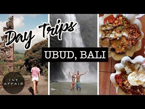 Waterfalls & Day Trips OUTSIDE Of Ubud, Bali