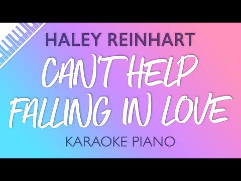 Can't Help Falling In Love (Piano Karaoke) Haley Reinhart
