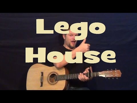 Lego House Ed Sheeran Easy Strum Guitar Lesson Chords How To Play