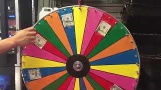 Prize Wheel Carnival Game Rental
