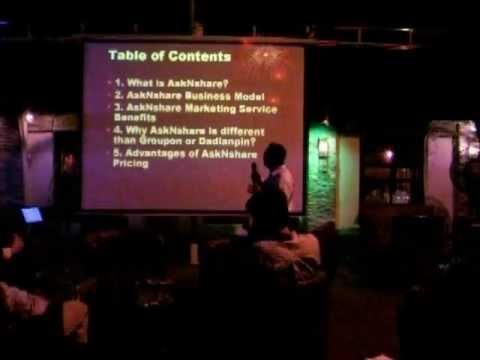 AskNshare Customer Relationship Network presentation in Shanghai on May 17, 2012 -unedited
