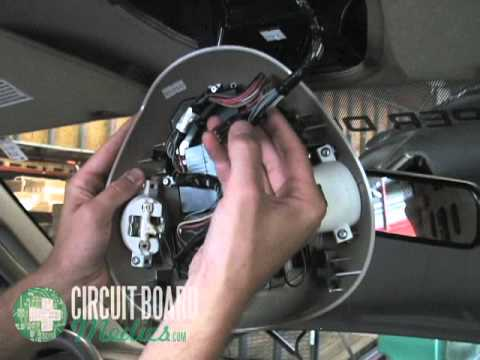 1999 Ford F250 Super Duty Wiring Diagram Heart Quiz Overhead Console Repair Service - Youtube