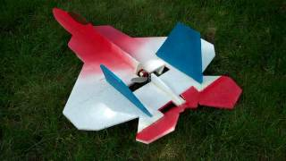 F-22 Foamie From Rc Groups Scratchbuilt Plans