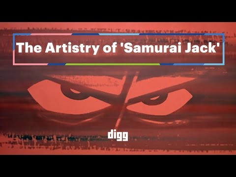 The Artistry Of 'Samurai Jack'