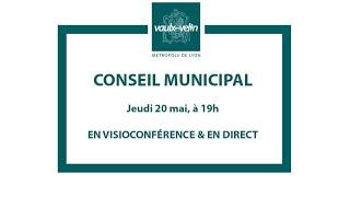 Conseil municipal<br/>20 mai 2021