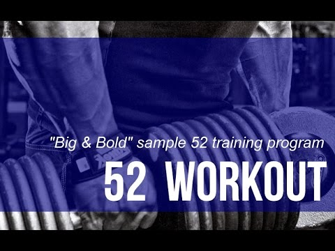 4 Day Split Workout – Big, Brutal and Bold Muscle Mass Building Program