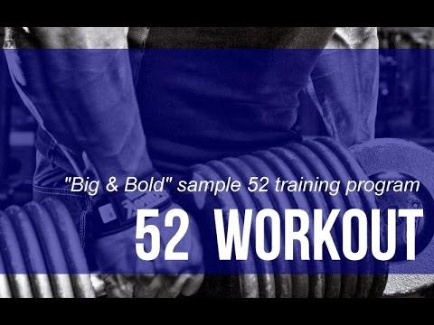 4 Day Split Workout - Big, Brutal and Bold Muscle Mass Building Program