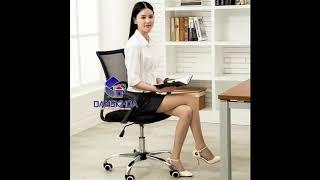 Bán ghế xoay lưới văn phòng nhập khẩu GXL65 giá 470k tại nội thất Đăng Khoa