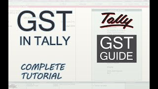 GST in Tally ERP 9 Complete Guide    Implement GST in Tally