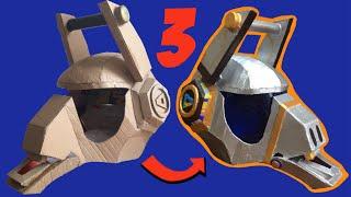 DIY: Make Fortnite Dj Yonder Helmet part 3, free templates
