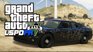 GTA 5 LSPDFR #18 - Mexican Cartel Shootout! FIB Patrol : GTA 5 Police Role Play