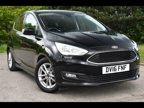 Used Ford C Max 1 6 125 Zetec 5dr Panther Black 2016