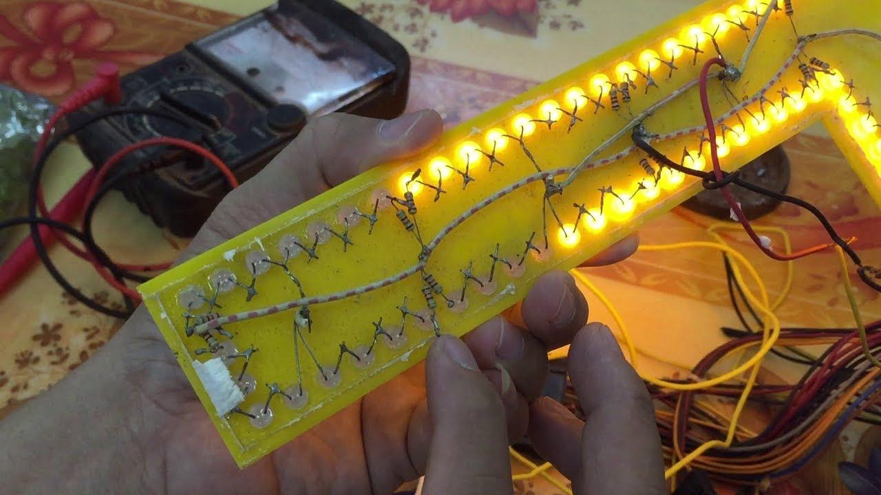 Hướng dẫn sửa đèn Led quảng cáo chữ nôi mica gắng Led.