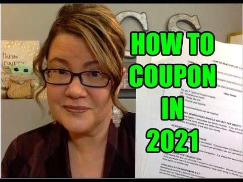 HOW TO COUPON IN 2021 | How to Read & Use Coupons