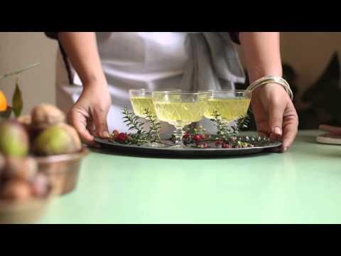 Christmas Recipe | Prosecco Jelly with Edible Glitter & Pomegranate Jewels | Jette Virdi