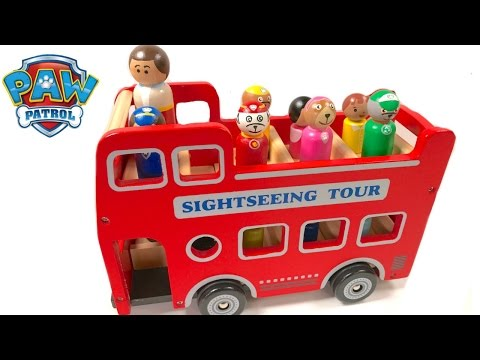 Thumbnail: Best Learning Colors Video for Children - Paw Patrol Sightseeing Carnival Tour Bus