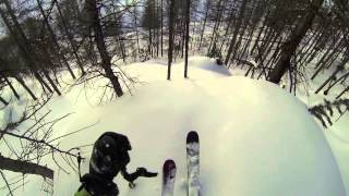 Powder Tree Lines Val d'Isere GoPro HERO3 Thumbnail