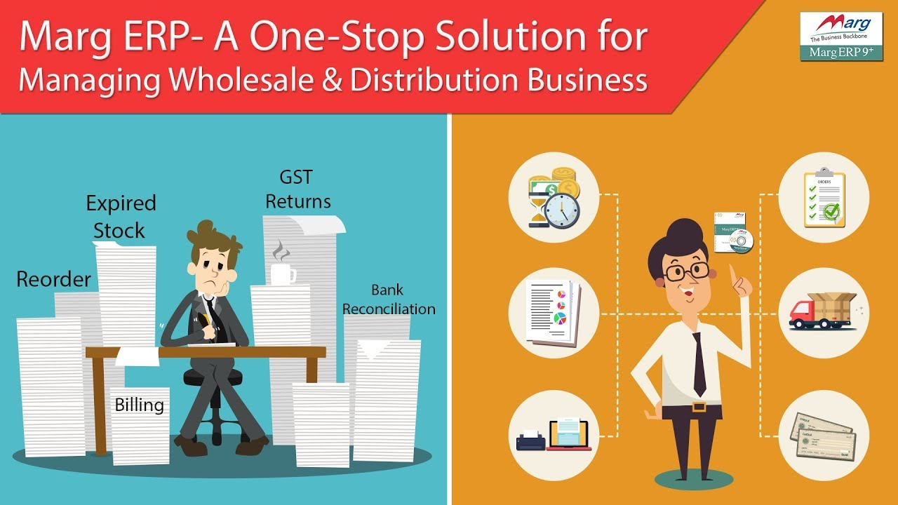 Pharma Software | Fmcg Software | Wholesale Distribution Demo [English] -  Marg Erp Call 9999999364