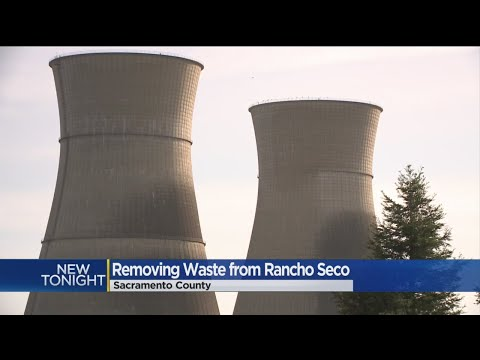 Tons Of Nuclear Waste Outside Sacramento May Finally Be Removed
