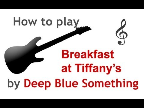 Breakfast at Tiffany\'s guitar lesson, with chords - guitarguitar.net ...