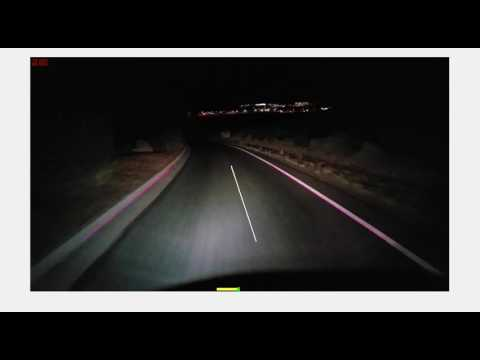 MATLAB Lane Detection and Tracking for Self-Driving Car - Night Driving